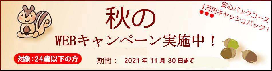 10月-11月キャンペーン